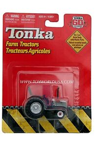 2007 Tonka 60th Anniversary Farm Tractors Red with Silver Wheels