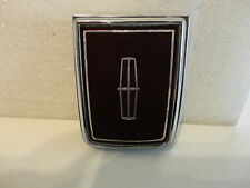 1984 1985 1986 Lincoln Continental Mark vii Trunk Deck Lid Lock Insignia Emblem