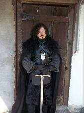 Game of Thrones Jon Snow Season 2 Cloak Costume
