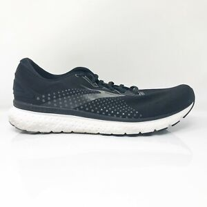 Brooks Mens Glycerin 18 1103291D057 Black Running Shoes Lace Up Size 13 D