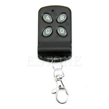 Wireless 4 Channel Remote Control Controller Transmitter Switch Keychain 433MHz