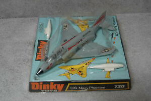 Dinky 730 US Navy Phantom Very  Near Mint Boxed In Bubble Pack