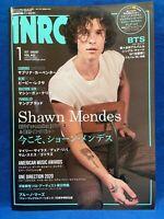 INROCK January 2021 Japan Magazine Shawn Mendes Miley Cyrus Dua Lipa BTS Justin