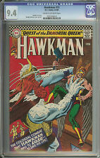 HAWKMAN #13 CGC 9.4 CR/OW PAGES  // MURPHY ANDERSON COVER & ART