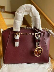 Michael Kors Giftables Ciara XS Mini Crossbody Bag Satchel Handbag (Magenta)