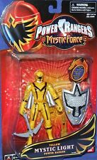 "Power Rangers Mystic Force 5"" Yellow Mystic Light Ranger New Factory Sealed 2006"