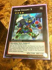 Gear Gigant X - CT10-EN017 - Super Rare - Limited Edition - M/NM Yugioh