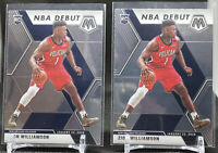 (Lot Of 2) 2019-20 Panini Mosaic Zion Williamson RC Rookie Card NBA Debut #269