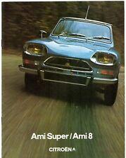 Citroen Ami 1973-76 UK Market Sales Brochure 8 Super Van