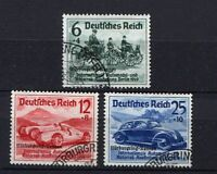 German Reich WW II : Nurburg Ring Car Race set from 1939 - used !!!