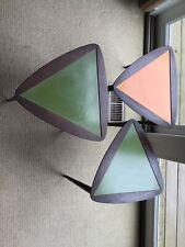 Vintage Mid Century Modern Nesting Tables Arthur Umanoff Triangle