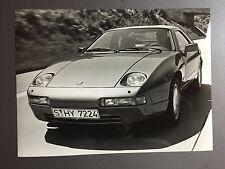 """1987 Porsche 928 S Coupe B&W Press Photo """"Werkfoto"""" RARE!! Awesome L@@K"""