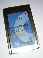 Sony SCSI PCMCIA Interface Card for CD-ROM Discman PRD-650 / 250 Portable Drive