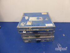 Flightcase 3x Universal SCATOLA ALUBOX ALU-general use Box/ALU-casse di trasporto