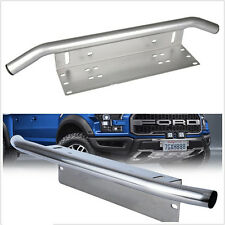 Front Bumper License Plate Driving/Working Lights Mount Metal Bracket Holder 4x4
