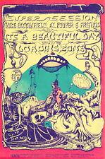 MINT Super Session Beautiful Day 1968 BG 138 SHOW BACK Fillmore Handbil