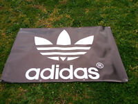 Adidas PVC Vinyl Banner Flag Poster Sign 1000x1800mm FREE DELIVERY