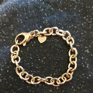 Milor Italia bracelet Bronzo.  Rose gold colour lovely link bracelet ladies. ...