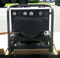 Military Surplus Skid Mounted 4 Cyl Gasoline Generator 3 KW, 28 VDC  MEP-026C