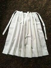 GIRLS VICTORIAN TUDOR EDWARDIAN POOR  MAID WAIST APRON /& MOP CAP fancy dress 3//5