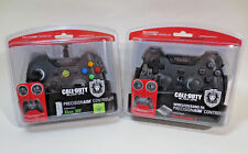 (2X) Mad Catz PS3 & XBOX 360 CoD Black Ops Precision Aim Game Controllers -NEW