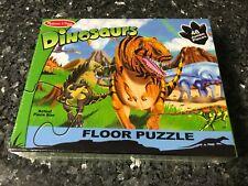 DINOSAURS Melissa & Doug 48 Jumbo Piece X-Large Floor Puzzle BRAND NEW SEALED