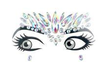 Glitzer Make Up Gesicht Juwelen Edelstein BFG1810 Regenbogen
