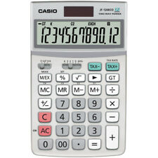 Casio ECO Calculator Large 12 Digit Display Currency Conversion Dual Powered