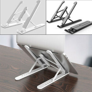 Adjustable Laptop Stand Support Home Office Table Tablet Top Non-slip Holder