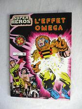 ALBUM SUPER HEROS N°8 L'EFFET OMEGA ETAT NEUF