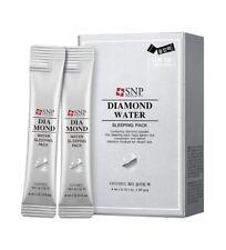 [SNP] Diamond Water Sleeping Pack - 1 Box(4ml x 20ea) Korean Cosmetics beauty