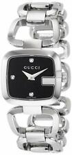Gucci Women's YA125509 'G-Gucci' Diamond Stainless Steel Watch