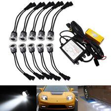 Xenon White 30W High Power Flexible LED Daytime Running Lights/Puddle Lamps Kit