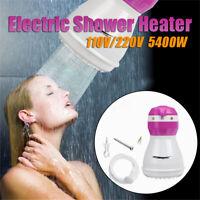 5400W 110V/220V Electric Shower Head Heat Hot Water Heater Bath Tool * H L