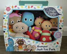 In The Night Garden Bumper Soft Toy 6 Pack Iggle Piggle  Upsy Daisy  Makka Pakka