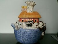Vintage Noahs Ark Cookie Jar