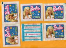 BARBIE 1976- FIGURINE PANINI-LOTTO 6 BUSTINE INTEGRE-AFFARE !!!