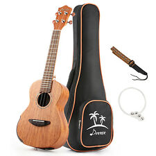 Solid Electro-acoustic Ukulele Electric Tenor Ukulele EQ 26 inch Mahogany Body