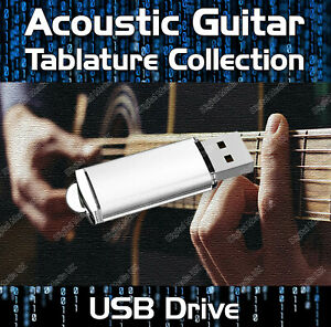 Acoustic Rock Guitar Tabs Tablature Tuition Software Lesson USB - Guitar Pro
