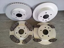 NISSAN QASHQAI+2 FRONT AND REAR BRAKE DISCS + PADS 2007-2013 1.5DCI, 1.6 PETROL