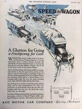 1926 REO Speedwagon Truck Original Advertisement 11x14 Print Art Car Ad LG61