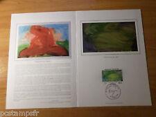 FRANCE 1984,  Document CERES 1° jour timbre 2300, TABLEAU MESSAGIER FDC PAINTING