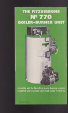 Fitzgibbons #770 Boiler