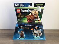 LEGO DIMENSIONS LORD OF THE RINGS 71220 GIMLI MINIFIGURE FUN PACK