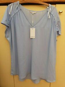 Estelle Clothing Women's TOP Blouse Size 16 NWT Blue