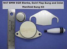 N47 EGR Blank Kit Swirl Flap Bonde et collecteur d/'admission bonde 120d 123d 320d 520