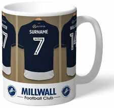 Personalised Millwall FC Dressing Room Shirts Mug - Free Delivery