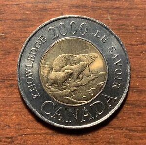 2000 Canada 2 dollars - high grade