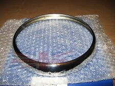 Brand New Headlamp Headlight Trim Ring Rim Triumph TR6 TR4A TR250 Spitfire to 70