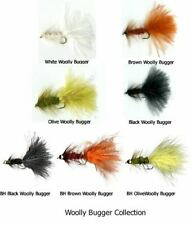 Cabela's TYLERS SECRET Bugger Flies - TAN/GREEN - 1